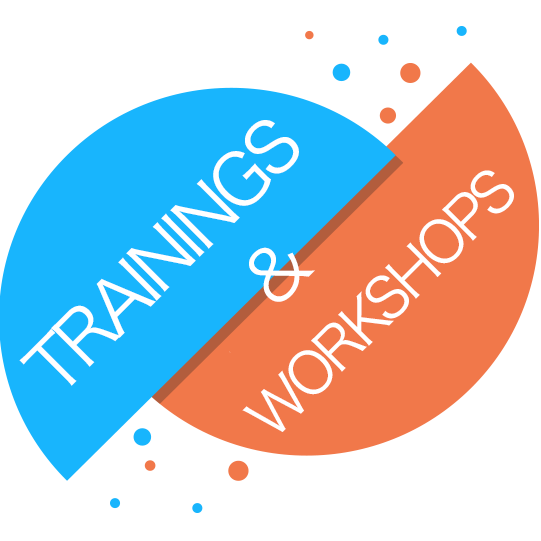 Trainings and Workshops Graphic